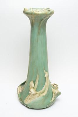 Lot 520 - An Art Nouveau Austrian Amphora vase