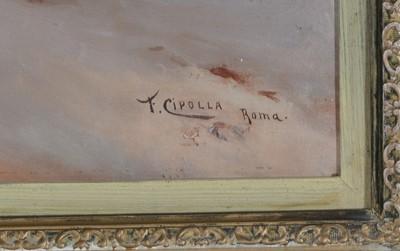 Lot 289 - Fabio Cipolla - oil painting
