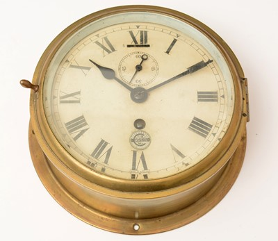 Lot 1202 - A ship's clock by Cooke