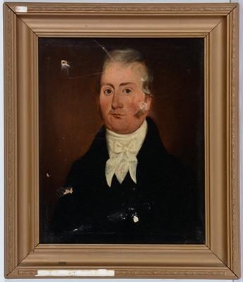 Lot 761 - 19th Century British school - oil portrait