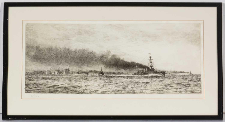 Lot 618 - William Lionel Wyllie - etching