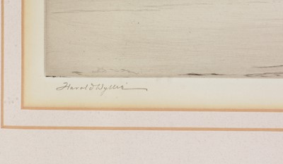 Lot 624 - Harold Wyllie - etching