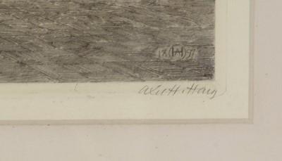 Lot 625 - Axel Herman Haig - etchings