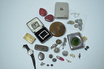 Lot 190 - Costume jewellery, small silver, and collectors' items
