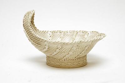 Lot 492 - Wedgwood Creamware basket