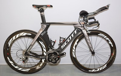 Lot 522 - A time trial bicycle by Scott