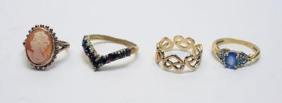 Lot 169 - Four rings
