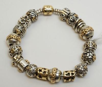 Lot 180 - Pandora bracelet