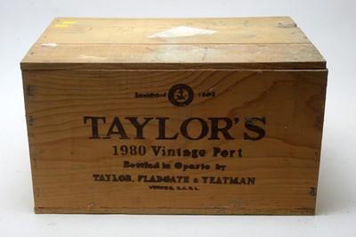 Lot 27 - Taylors Vintage Port 1980