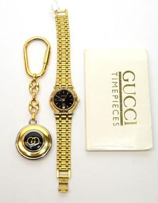 Lot 212 - A ladies Gucci wristwatch
