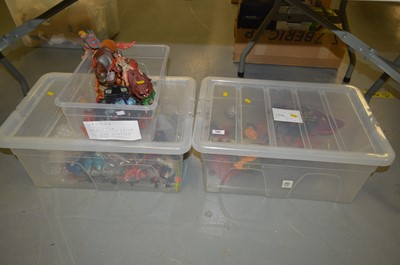 Lot 389 - A selection of 'He-Man' model figures, vehicles and accessories