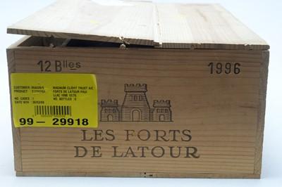 Lot 15 - Chateau Les Forts de Latour, Pauillac 1996