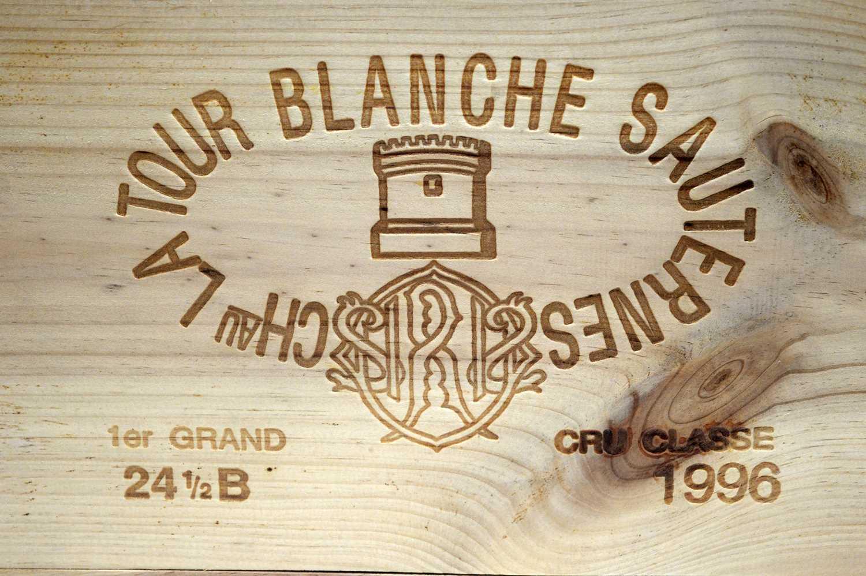 Lot 18 - Chateau La Tour Blanche Sauternes 1996