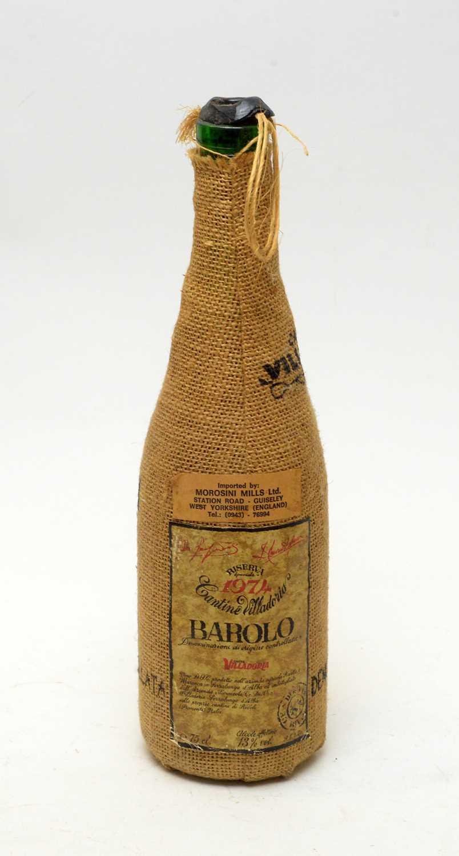 Lot 29 - Contino Villadoria Barolo 1974 Riserva