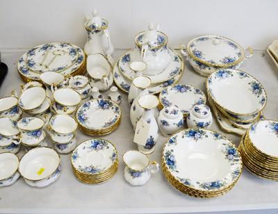 Lot 550 - An extensive Royal Albert 'Moonlight Rose' pattern dinner service
