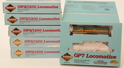 Lot 2 - Six Proto 2000 Series locomotives.
