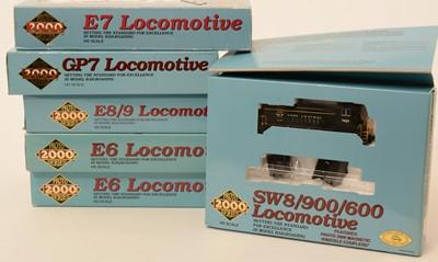 Lot 3 - Six Proto 2000 Series locomotives.