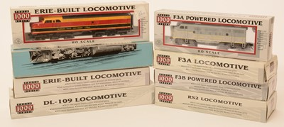 Lot 9 - Proto 2000 Series and Proto 1000 Series HO-gauge locomotives.
