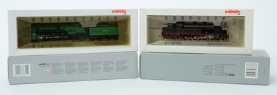Lot 17 - Four Märklin HO-gauge locomotives.