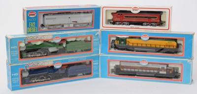 Lot 23 - Six Model Power locomotives.