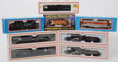 Lot 24 - Eight Model Power locomotives.