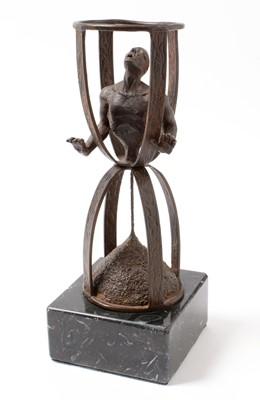 Lot 89 - Lorenzo Quinn- Sculpture Time flies