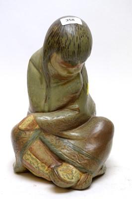Lot 358 - Lladro figure of an Eskimo girl.