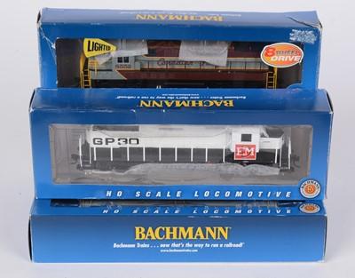 Lot 98 - Five Bachmann HO-gauge model locomotives