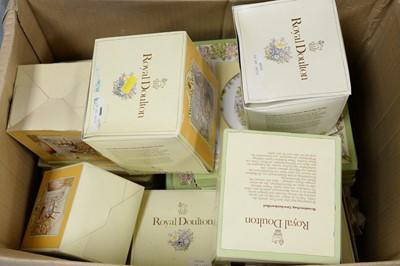 Lot 588 - Selection of boxed Royal Doulton Jill Barklem's Brambly Hedge ceramics