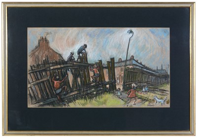 Lot 237 - Norman Stansfield Cornish - oil.