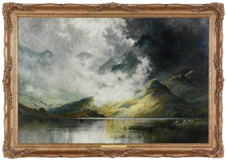 Lot 303 - Alfred Fontville de Breanski (1877-1957) - oil