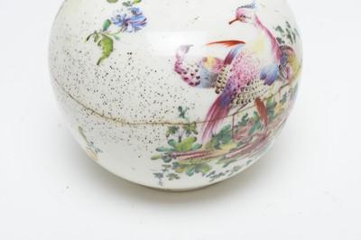 Lot 486 - Pair Bow bottle vases