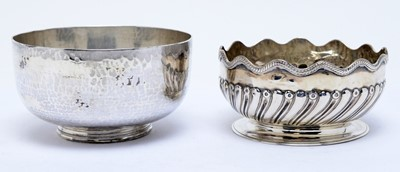 Lot 152 - Two Victorian silver sugar bowls
