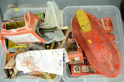 Lot 632 - Selection of boxed and loose model vehicles and toys.
