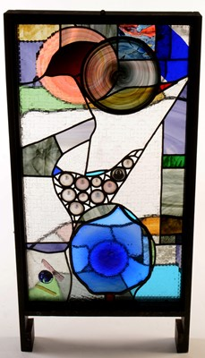 Lot 14 - Glass panel by Lee-Lee