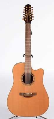 Lot 330 - Takamine P3 DL 12 string guitar