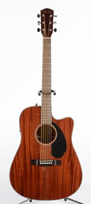 Lot 334 - Fender CD 60SCE electro-acoustic guitar