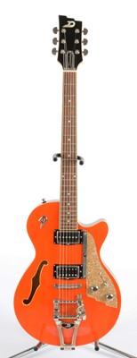 Lot 338 - Duesenberg Starplayer TV semi-acoustic guitar.