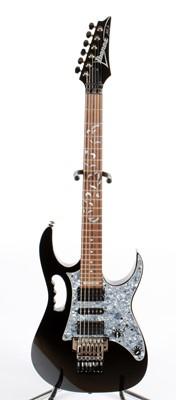 Lot 343 - Ibanez JEM 555BK Steve Vai Guitar