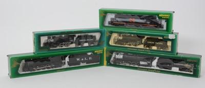 Lot 28 - Five Mehano HO-gauge locomotives.
