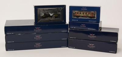 Lot 32 - Liliput First Class and other HO-gauge railway,...