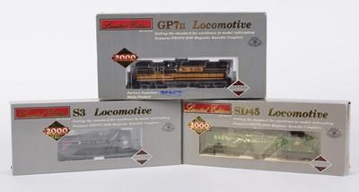 Lot 40 - Proto 2000 Series HO-gauge American Outline locomotives.