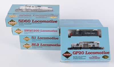 Lot 43 - Proto 2000 Series HO-gauge American-Outline locomotives.
