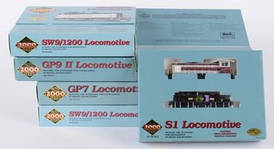 Lot 44 - Proto 2000 Series HO-gauge American-Outline locomotives.