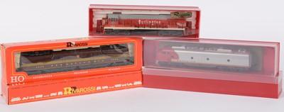 Lot 46 - Rivarossi HO-gauge American-Outline GM EMD E-8 and other locomotives.