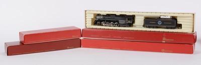 Lot 51 - Rivarossi HO-gauge locomotives and tenders.