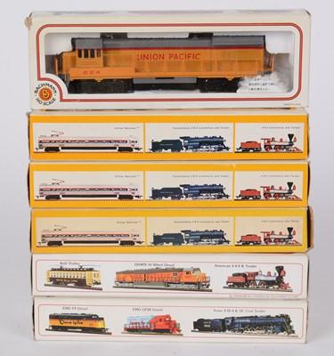 Lot 91 - Bachmann HO gauge model locomotives