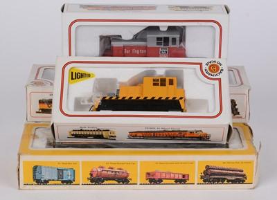 Lot 92 - Bachmann eight shows gauge model locomotives
