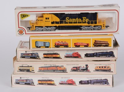 Lot 93 - Bachmann HO gauge model locomotives.