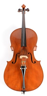 Lot 281 - Cello and Bow cased